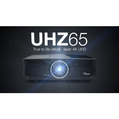 Optoma UHZ65 4K UHD Laser Digital Cinema Projector