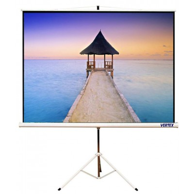 "VERTEX Tripod Projector Screen 100""MW"