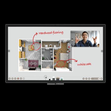 BenQ CP6501K DuoBoard Corporate Interactive Flat Panel