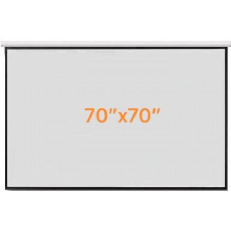 Razr Wall Screen จอแขวนมือดึง 70x70 นิ้ว