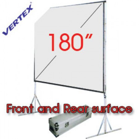 Vertex Easy-Fold Projection Screen 180 นิ้ว (F+R)