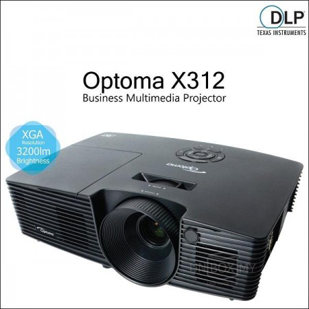 Optoma X312 (XGA DLP Projector)