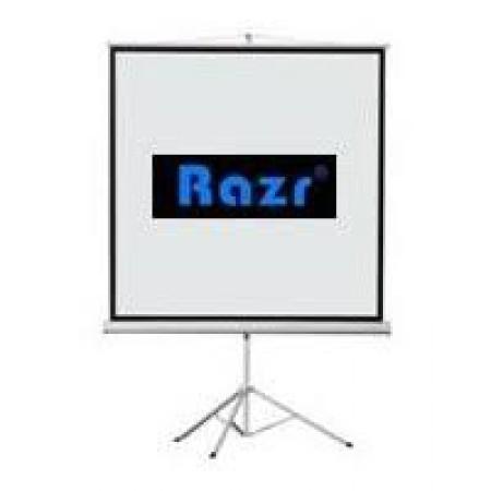 Razr Tri-pod จอขาตั้ง 100 นิ้ว (4:3)