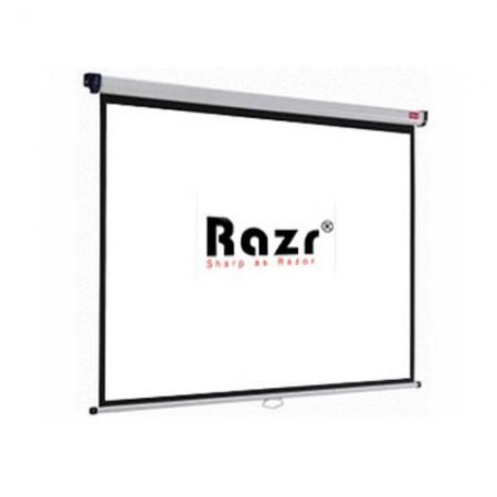 Razr Wall Screen จอแขวนมือดึง 120 นิ้ว (4:3 High Gain)