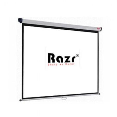 Razr Wall Screen จอแขวนมือดึง 84 นิ้ว (MW 4:3)