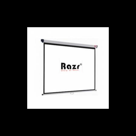 Razr Wall Screen จอแขวนมือดึง 120 นิ้ว (4:3 WRP)