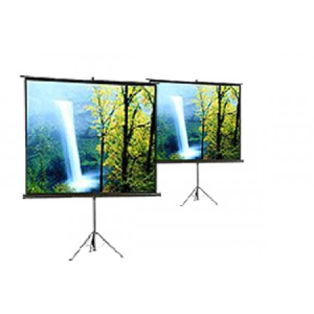 "Screenboy Tripod Projector Screen 70""x70"""