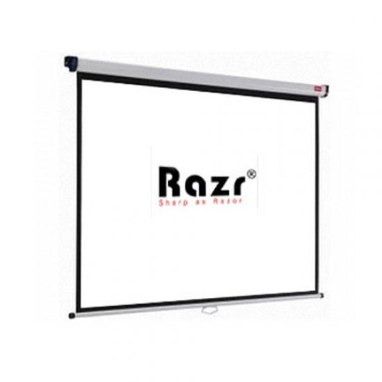 Razr Wall Screen จอแขวนมือดึง 100 นิ้ว (4:3 High Gain)