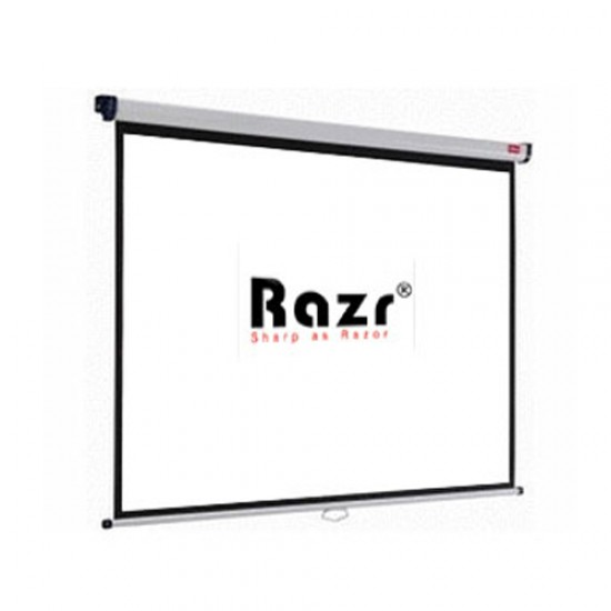 Razr Wall Screen จอแขวนมือดึง 180 นิ้ว (MW 4:3)