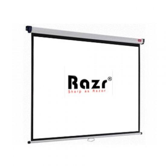 Razr Wall Screen จอแขวนมือดึง 200 นิ้ว (MW 4:3)