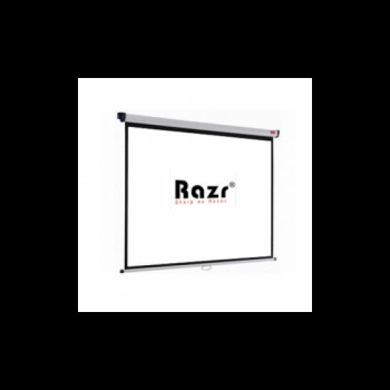 Razr Wall Screen จอแขวนมือดึง 100 นิ้ว (4:3 WRP)